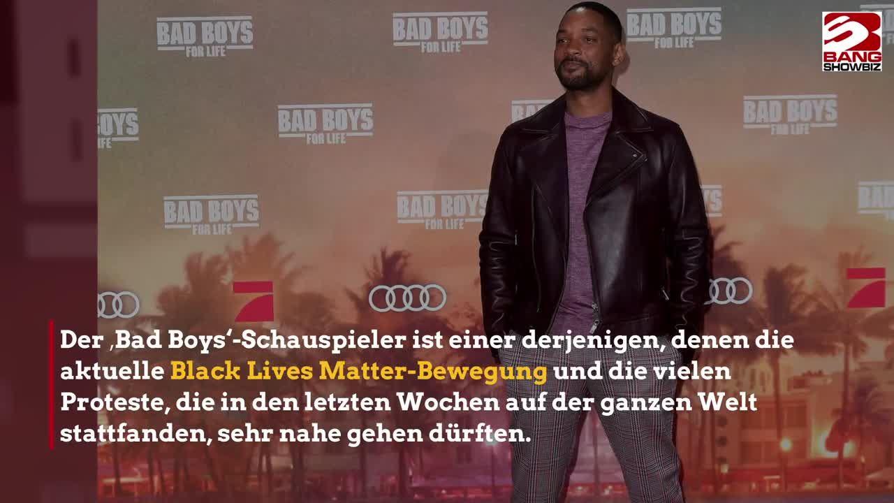 Will Smith: Rassistische Polizeigewalt am eigenen Leib erfahren - klatsch-tratsch.de